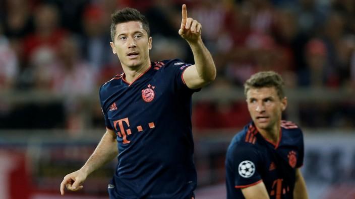 Champions League - Group B - Olympiacos v Bayern Munich