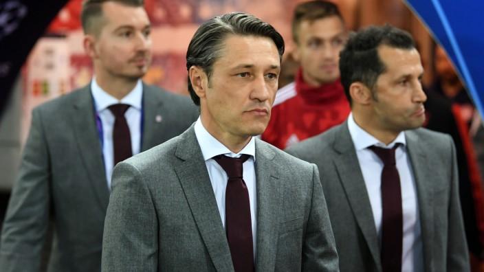 FC Bayern: Trainer Niko Kovac vor dem Champions-League-Spiel gegen Olympiakos Piräus