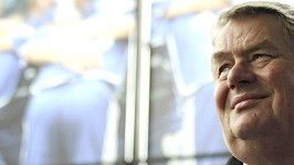 Schalke-04-Präsident Josef Schnusenberg, ddp