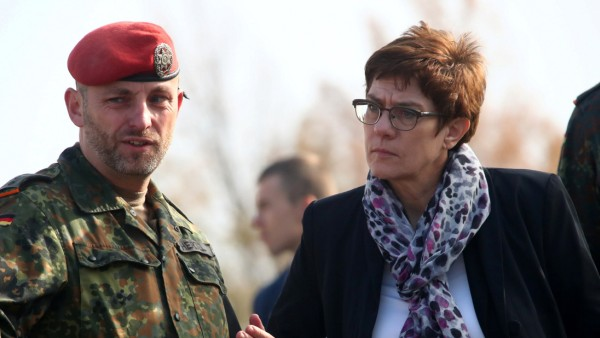 Kramp-Karrenbauer Bundeswehr Syrien
