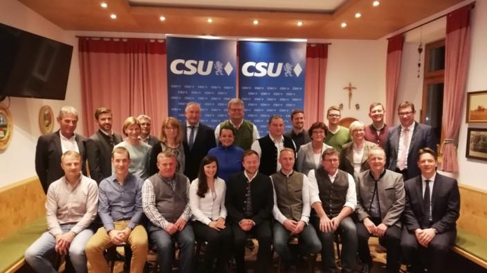 CSU Kandidaten Taufkirchen