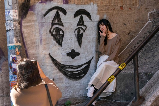 The Bronx, the 'Joker' steps attract fans from all over the world