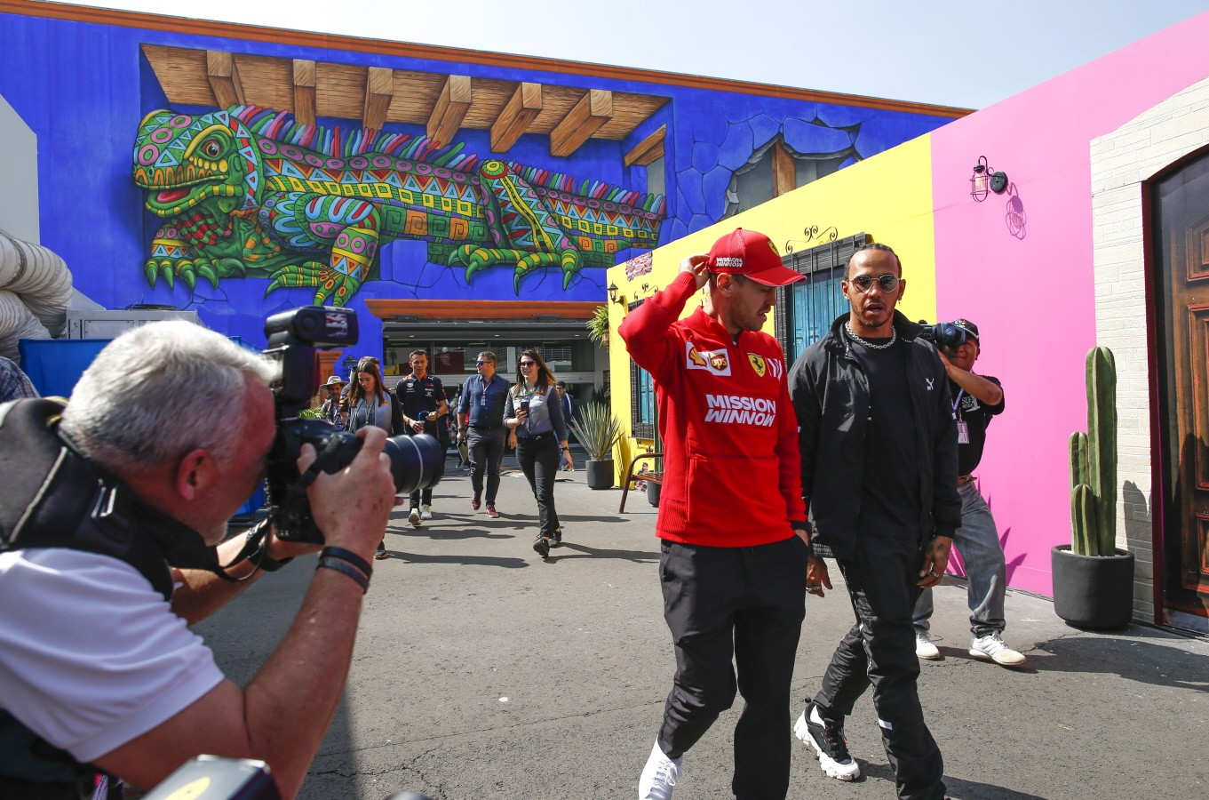 Motorsports: FIA Formula One World Championship, WM, Weltmeisterschaft 2019, Grand Prix of Mexico, 5 Sebastian Vettel (G