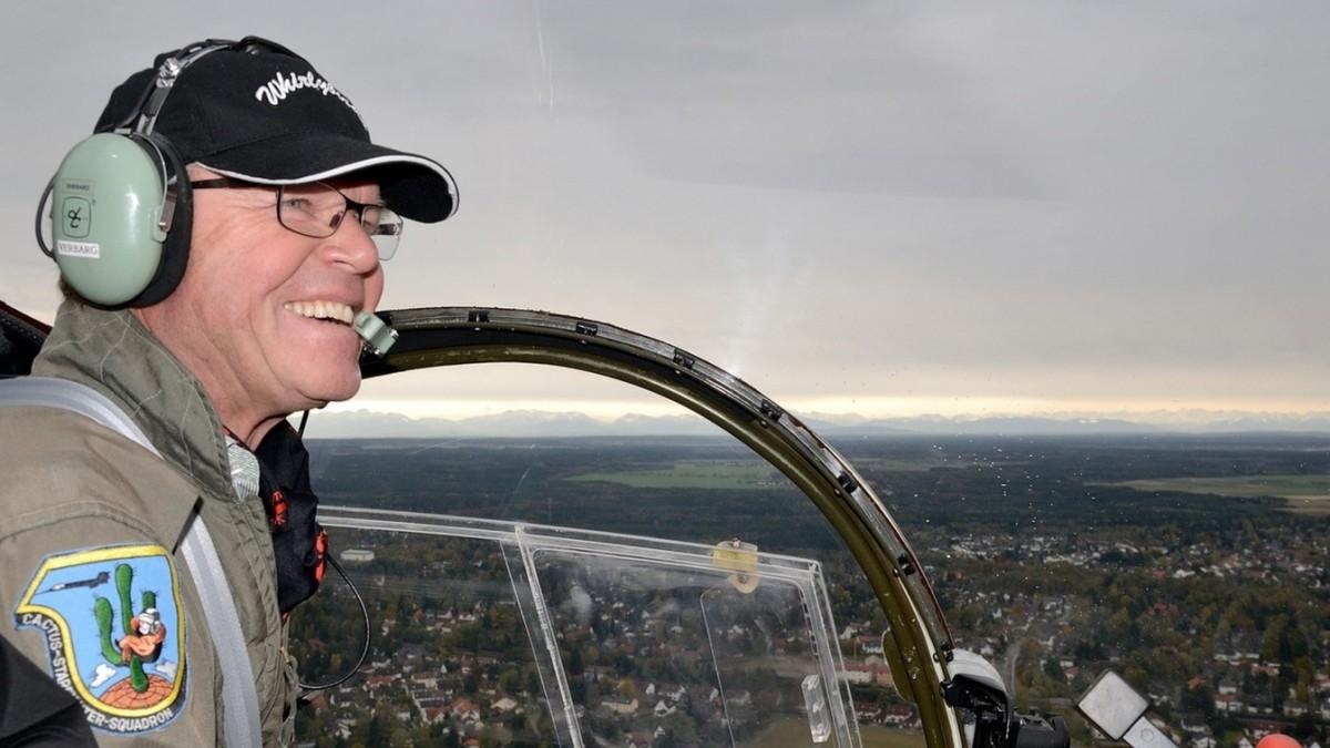 Luftfahrer aus Pöring: Der Überflieger