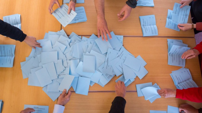 Thüringer wählen ein neues Landesparlament