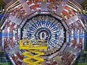 Teilchenbeschleuniger LHC am Cern in Genf