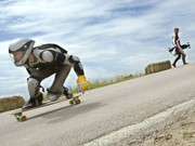 downhill skateboard; dpa