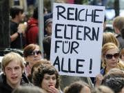 Bildungsstreik Schüler Studenten Protest Demonstration, ddp
