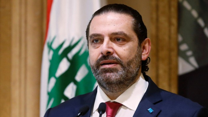 Libanon: Ministerpräsident Saad Hariri kündigt Rücktritt an
