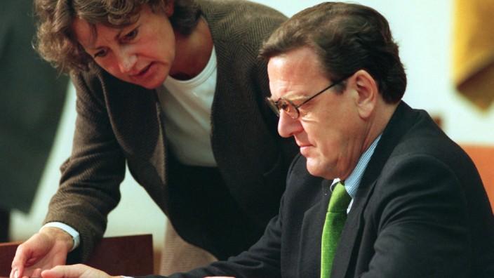 Niedersachsens Ministerpräsident Gerhard Schröder