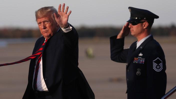 Ukraine: Berichte: US-Offizier will Trump in Ukraine-Affäre belasten