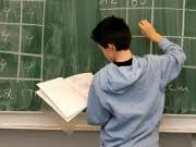 Hauptschule Schüler Tafel Lehrstelle Ausbildung, ap