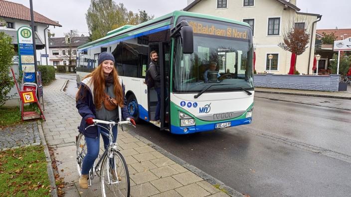 Bussilo - ÖPNV versus Fahrrad - Parsdorf nach Netterndorf