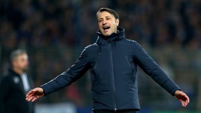 FC Bayern: Niko Kovac im DFB-Pokal gegen den VfL Bochum