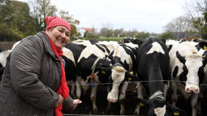 Milchbäuerin Elisabeth Grandl