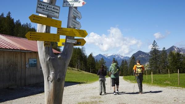 Wandern ist für unseren Kolumnisten die entschärfte Variante des Bergsteigen.