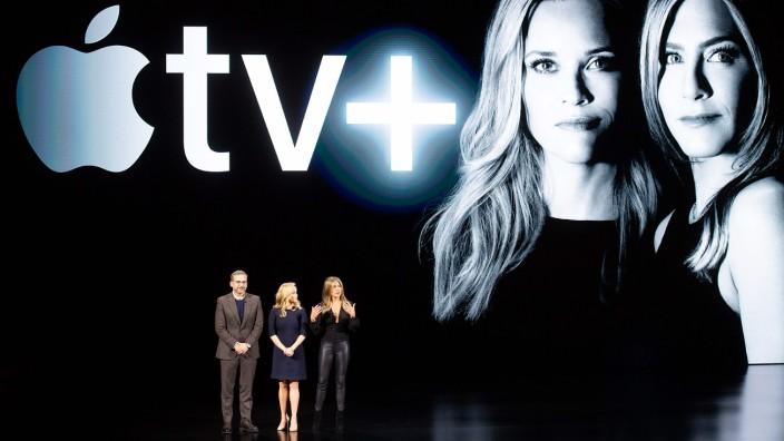 Launch of Apple TV+