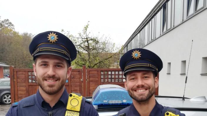 Polizei mit Body-Cams