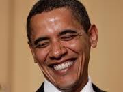 USA Präsident Barack Obama Scherze Komiker, AP