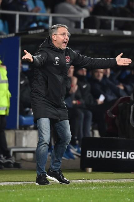 04.11.2019, Fussball GER, Saison 2019 2020, 2. Bundesliga, 12. Spieltag, VfL Bochum - 1. FC Nuernberg, Trainer Damir Ca