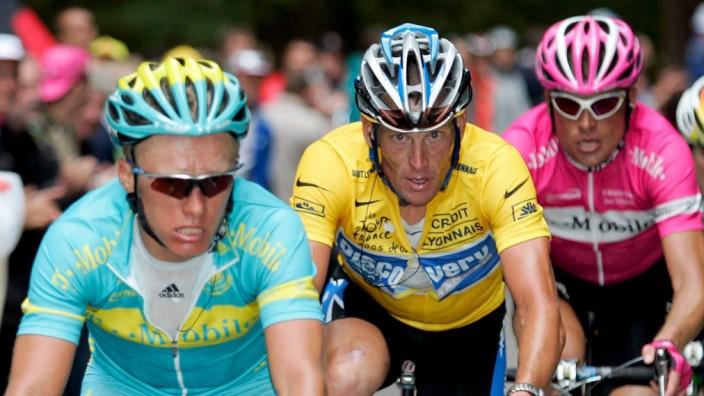 Tour de France - 8. Etappe -Armstrong Ullrich Winokurow