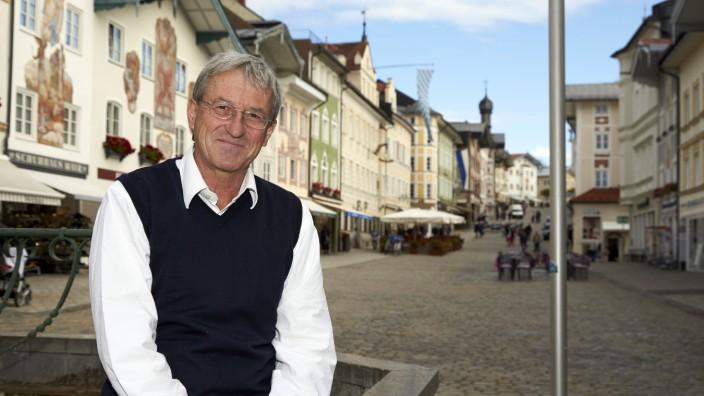 Franz Mayer-Schwendner, Bürgermeister Grüne