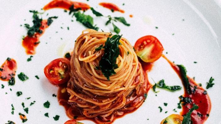 Panorama Pizza Spaghetti Rechnung