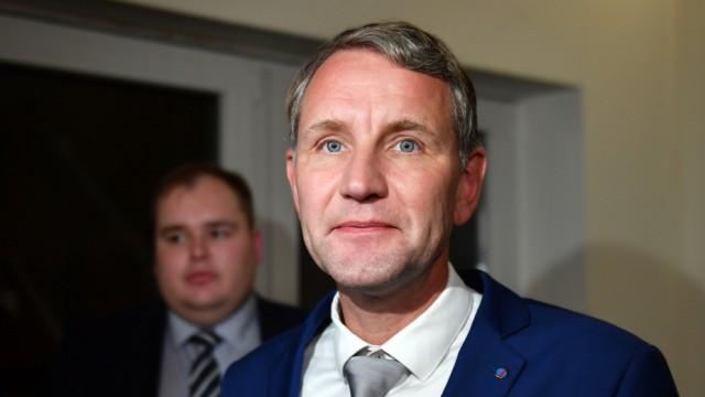 Politik Thüringen Höcke bietet CDU und FDP Tolerierung einer Minderheitsregierung an