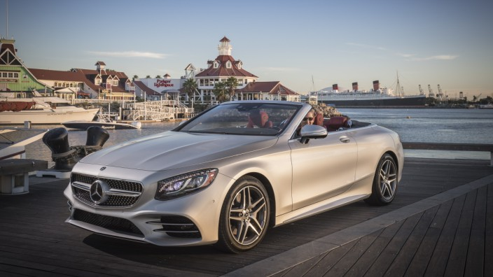 PFV die neue S-Klasse Cabriolet und S-Klasse Coupe Kalifornien 2017  Press test drive the new S-Class Cabriolet und S-Class Coupe California 2017