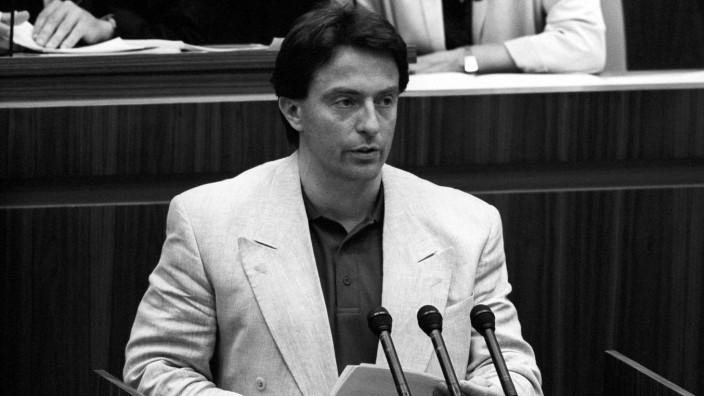 Peter Michael Diestel DDR Volkskammer