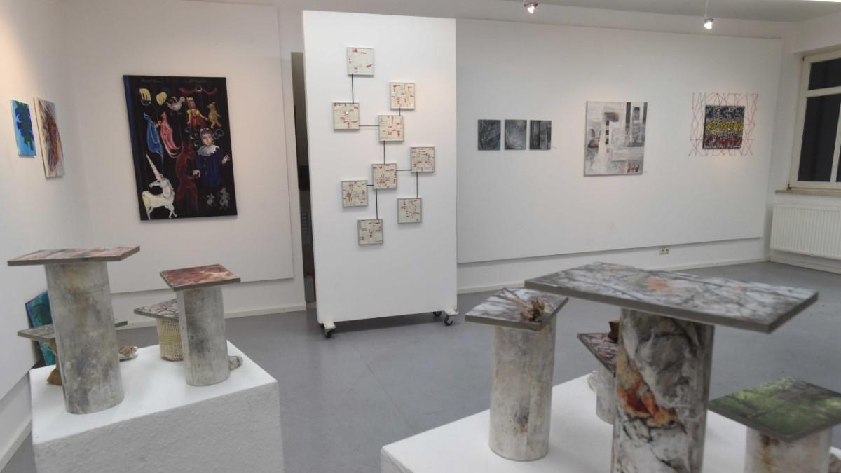 Bilder, Skulpturen, Installationen - Jahresausstellung des Kunstkreises Karlsfeld - Süddeutsche Zeitung