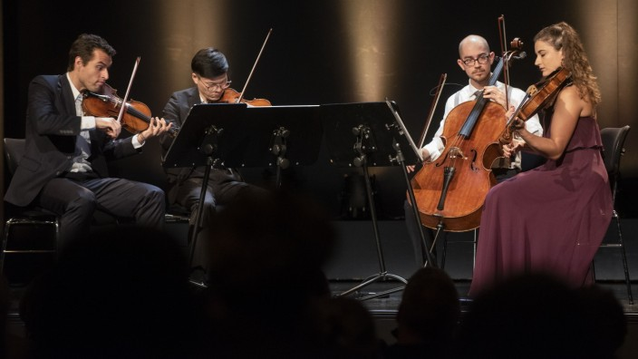Pullach, Bürgerhaus, Klassik-Konzert Dover Quartet, Foto: Angelika Bardehle