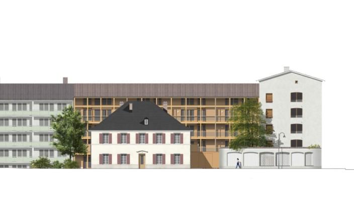 Grafik Neubau Sauerlacher Straße 15, Wolfratshausen (Maro Genossenschaft)