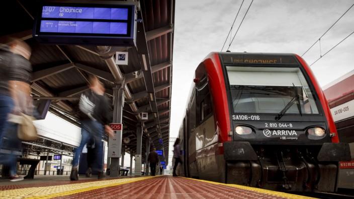 Regionalzugverkehre von DB Arriva in Nordpolen