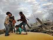 Kinder im Gaza-Streifen, AP