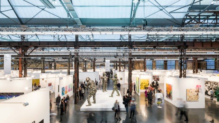 Preview Art Düsseldorf, 2017  Copyright: Sebastian Drüen