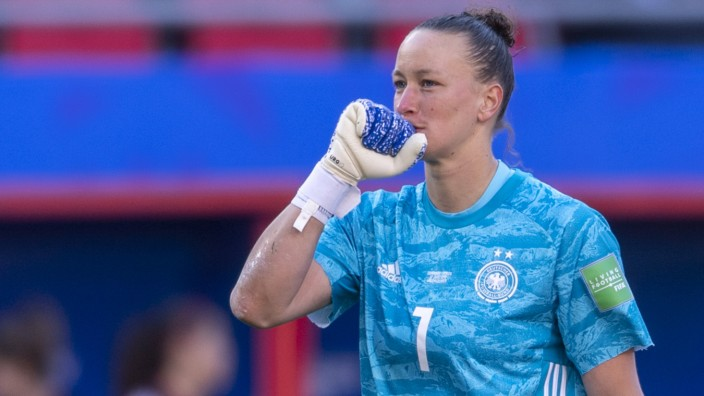 Almuth Schult Germany during the FIFA Women s World Cup France 2019 Group B match between Germany; Schult