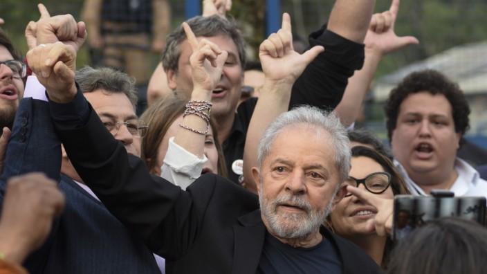 Brasiliens Justiz ordnet Freilassung von Ex-Präsident Lula an