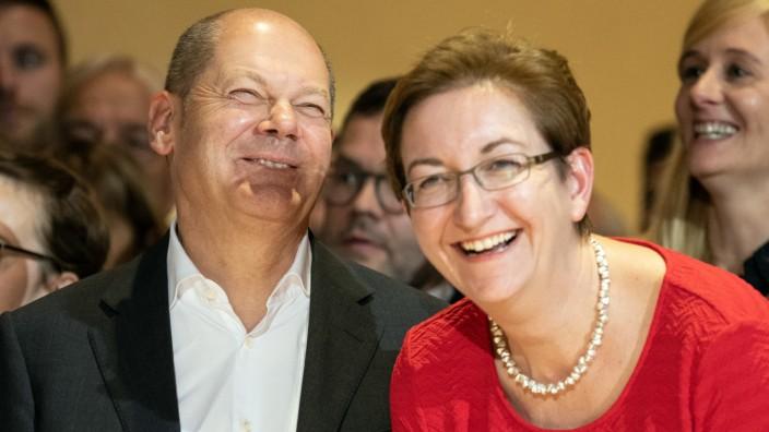Scholz, Geywitz, SPD-Vorsitz