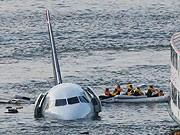 Flugzeugunglück in New York Hudson River AP