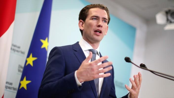 Sebastian Kurz startet für die ÖVP Verhandlungen mit den Grünen