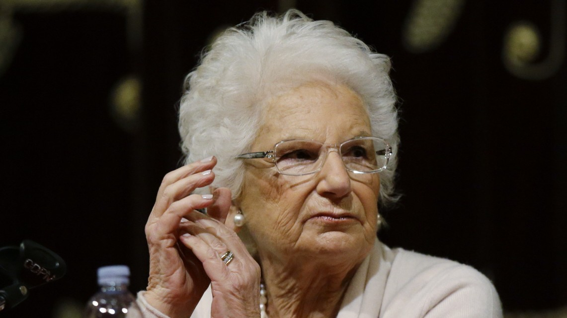 Auschwitz-Überlebende Liliana Segre wird bedroht