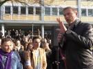 Lindner fordert mehr Meinungsfreiheit vor der Uni Hamburg (Vorschaubild)
