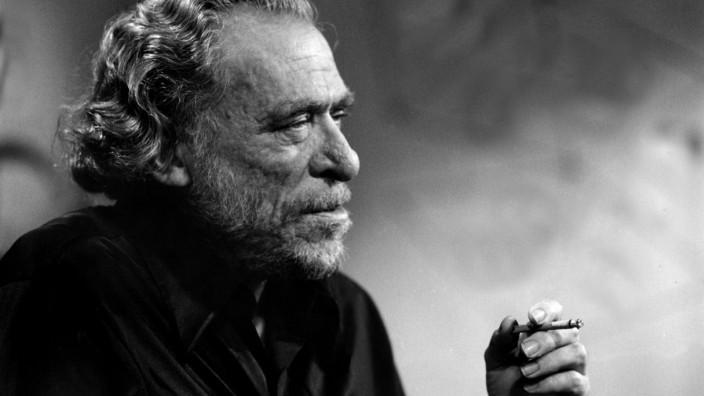 Charles Bukowski, American poet and writer.