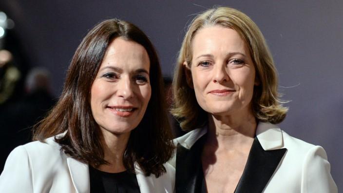 Anne Will und Miriam Meckel 2017 in Hamburg