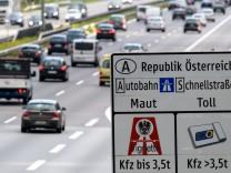 Österreich will Autobahnabschnitte in Grenznähe von Maut befreien