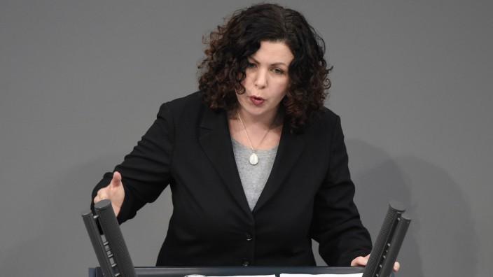 Linke: Amira Mohamed Ali spricht im Deutschen Bundestag