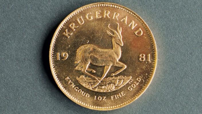 Goldmünzen - Krügerrand