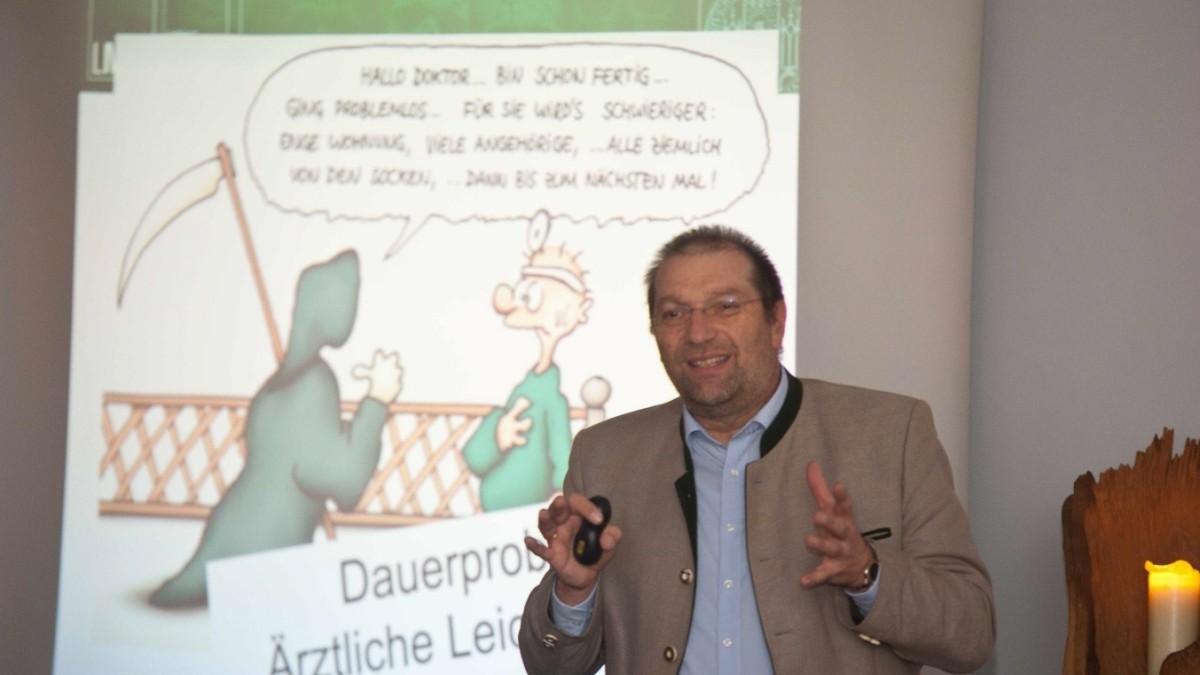 Spannender Vortrag in Grafing - Was die Toten verraten - Süddeutsche Zeitung
