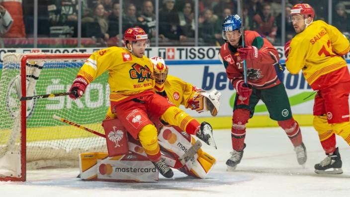Augsburg, Deutschland, 12.11.2019, CHL, Saison 2019/2020, First Game, Round of 16, Achtelfinale, AEV Augsburger Panther